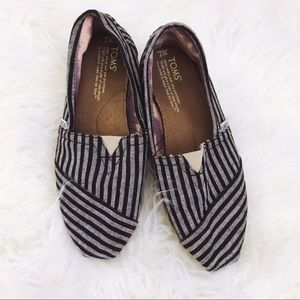 Striped Canvas TOMS